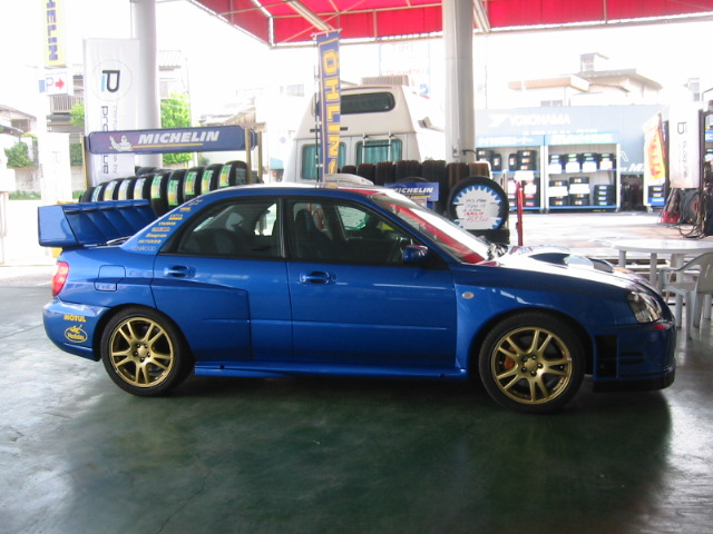 2004'タイプWIDE BODY 4点KIT FRP(GD.泪目用)